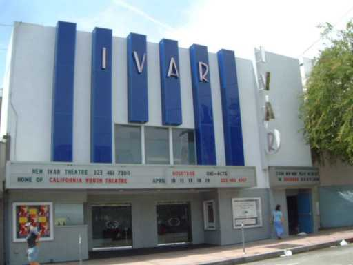The old Ivar Theater